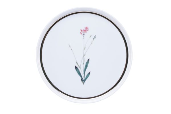 Тарелка пирожковая 18см Цветок №4 BOTANICAL