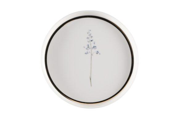 Тарелка пирожковая 18см Цветок №8 BOTANICAL