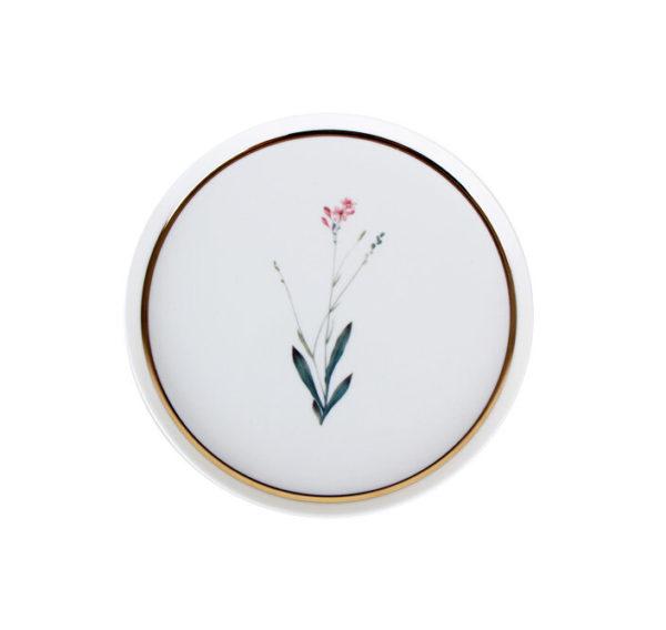 Тарелка десертная 21см Цветок №3 BOTANICAL