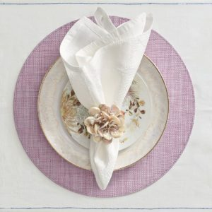 Плейсмат под тарелку Портофино сиреневый