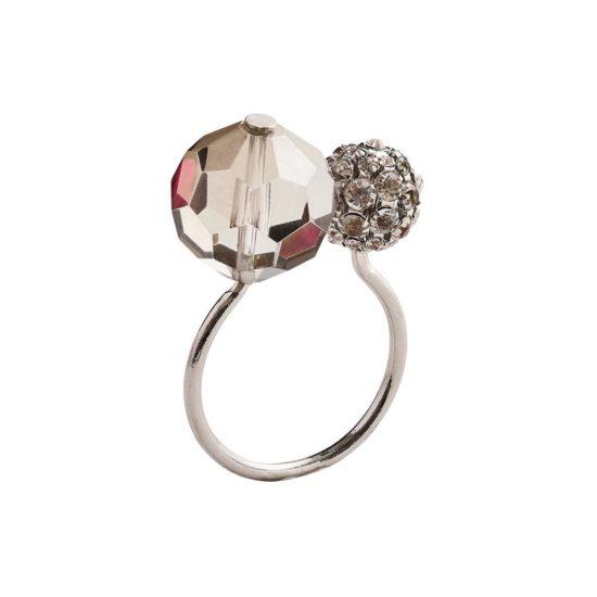 Кольцо Пош серебро