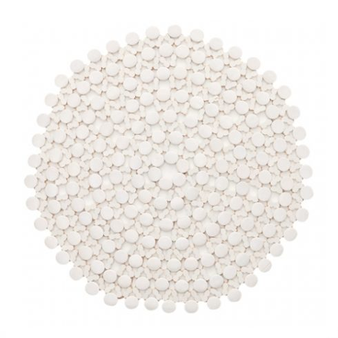 Плейсмат под тарелку Бамбу белый