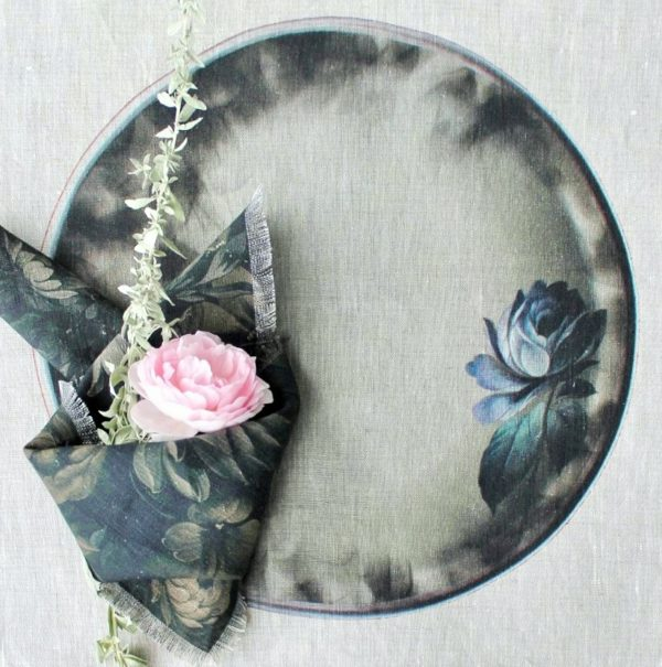 Салфетка Подносы мотив Роза