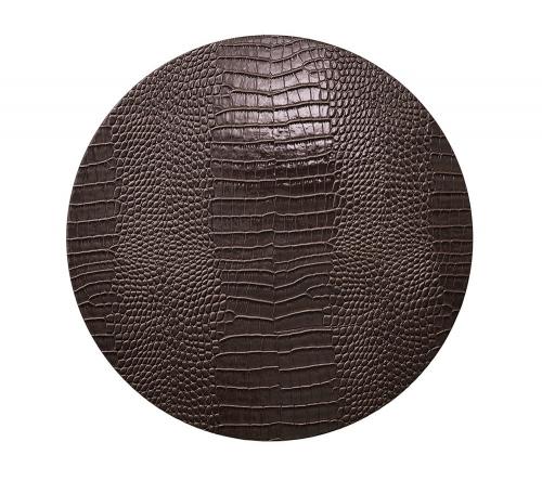 Плейсмат под тарелку Эверглэйд коричневый