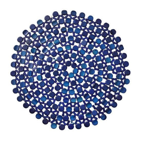 Подставка Бамбу синяя