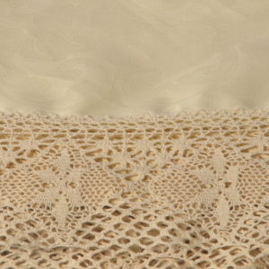 Скатерть Фиандра рез.на 6 перс.темно-беж