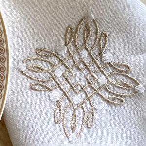 Дорожка Бал + 2 салф.с вышивкой (к-т)