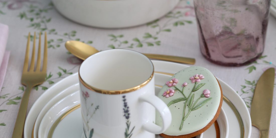 Столовая посуда Botanical