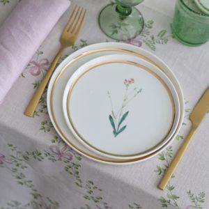 Тарелки из форфора Botanical