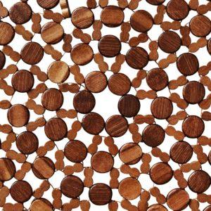 Подставка Бамбу коричневая