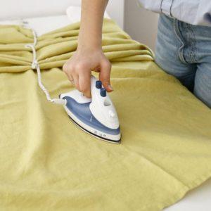 Как гладить скатерть изо льна