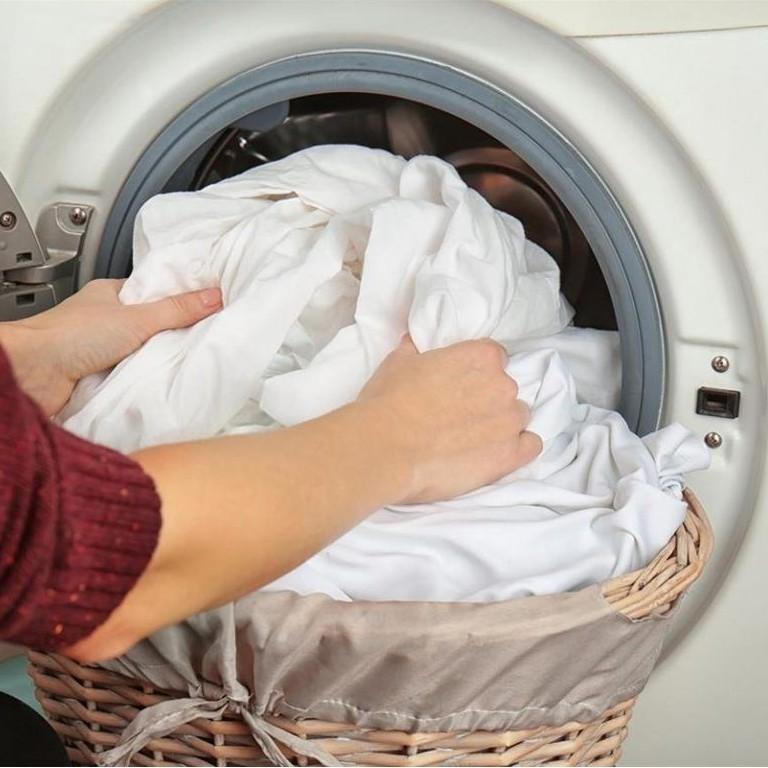 Как стирать льняную скатерть