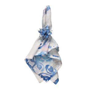 Кольцо для салфеток Стар голубой