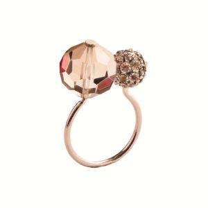 Кольцо для салфеток Пош серебро