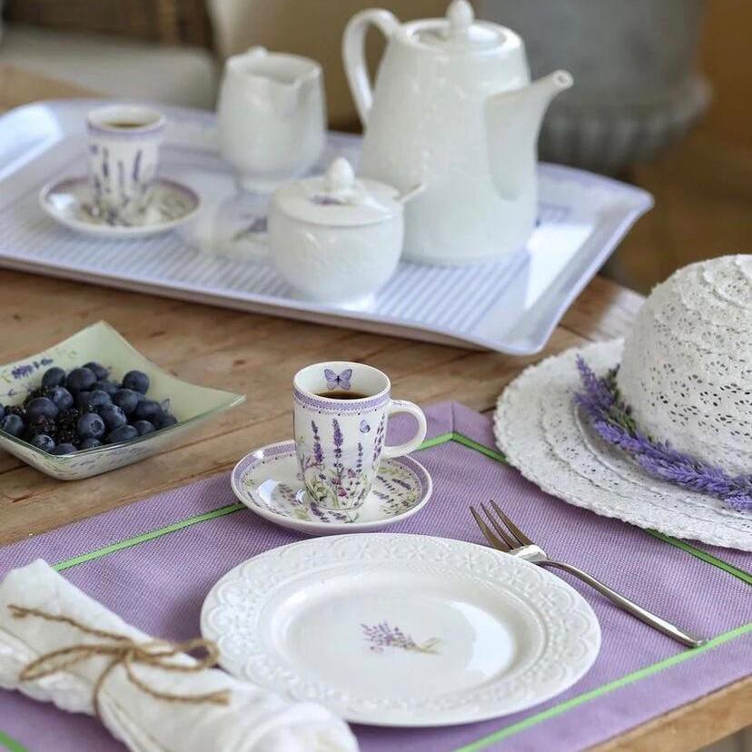 Завтрак в стиле прованс